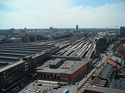 Munich Main Railway Station - aerial view.JPG