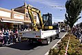 Murrumbidgee Irrigation vehicle in the SunRice Festival parade in Pine Ave (2).jpg