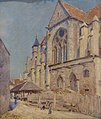 Musée Calvet Sisley Alfred église de Moret 1894.jpg
