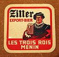 Musée Européen de la Bière, Beer coaster pic-111.JPG