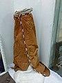 Musée national d'Ethiopie-Vêtements traditionnels en cuir décoré (3).jpg