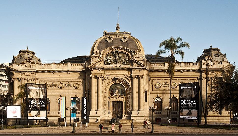 Museo Nacional de Bellas Artes, Santiago de Chile.