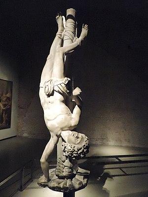 Agapitus of Palestrina - Statue of St Agapitus by Marco Antonio Prestinari (ca. 1605-1607) in Museo del Duomo, Milan