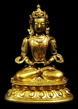 Amitābha - Statue of the Buddha Amitābha (Mongolia, 18th century)