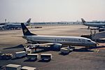 Myanmar Airways International Boeing 737-4Y0 TC-AYA (23936098366).jpg