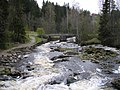 Myllykoski, a popular fishing site in Vantaa river (05-2007) - panoramio.jpg