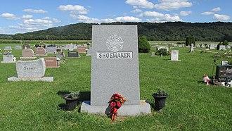 Myrl Shoemaker - Image: Myrl Shoemaker Grave