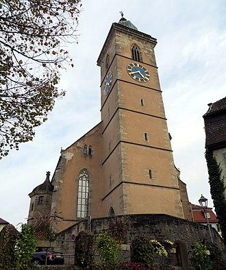 Nürtingen - Nürtingen St. Laurentius West side