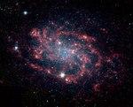 NGC300 - Spitzer Space Telescope - Ssc2004-07b1.tif