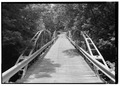 NORTH PORTAL, LOOKING SOUTH-SOUTHWEST. - Shaw Bridge, Claverack, Columbia County, NY HAER NY,11-CLAV,3-1.tif