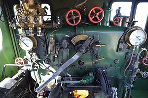 Z1210 - NSWGR Locomotive 1210 Cab