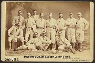 New York Metropolitans baseball team