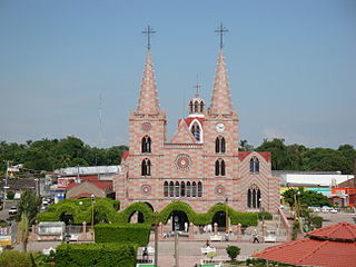 Nacajuca City in Tabasco, Mexico