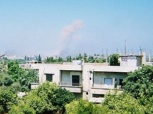 2007 Lebanon conflict - The shelling of Nahr al-Bared