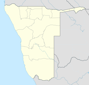 Windhoek is located in Namibia