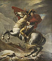 Napoleon Crossing Alps copy Rouget 1840.jpg