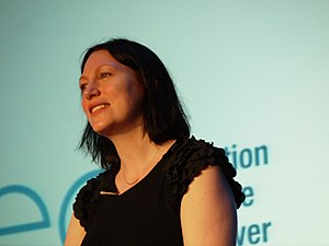 Natalie Haynes - Image: Natalie Haynes at QE Dcon 2013