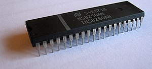 8250 UART - The National Semiconductor 8250 UART chip, one of the most prolific and most cloned UART chips.