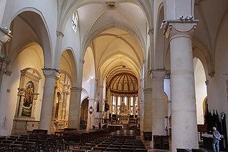 Santa Corona, Vicenza - The nave of Santa Corona.