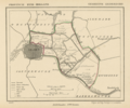 Netherlands, Leiderdorp, map of 1867.png