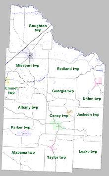 Nevada County Arkansas Wikipedia - Map of nevada county