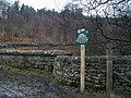 New Peak and Northern Footpath Society Sign - geograph.org.uk - 1169792.jpg