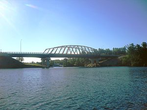 Sioux Narrows-Nestor Falls - Sioux Narrows Bridge