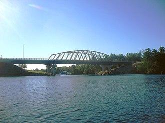 Sioux Narrows-Nestor Falls - Sioux Narrows Bridge