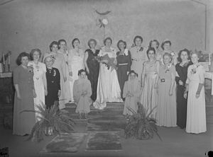 Shriners - Daughters of the Nile at Shriners Hospital for Children – Canada in Montreal in 1948.