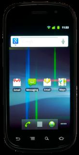Nexus S Android smartphone