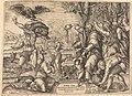 Nicolaus Beatrizet, The Sacrifice of Iphigenia, NGA 53429.jpg