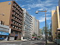 Niigata Higashinaka-dori 20131019.JPG