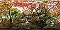 Nishinomiya-shi Kitayama tree planting botanical garden - Japan - Nikon 1 V1 + FC-E9 equirectangular panorama 360°x180° (6475787765).jpg