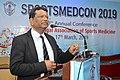 Nisith Ranjan Chowdhury Delivering Lecture - Quality Medical care - SPORTSMEDCON 2019 - SSKM Hospital - Kolkata 2019-03-17 0238.JPG