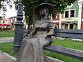 Nisko - postać Marii Resseguier w parku przy Placu Wolności (3).jpg