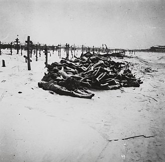 Russian famine of 1921–22 - Victims of the famine in Buzuluk, Volga region, next to Samara