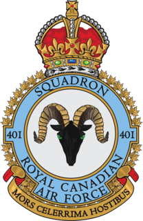Canadian Air Force fighter squadron