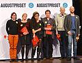 Nominerade till Augustpriset i kategorin skönlitteratur 2013.jpg