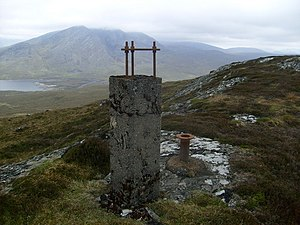 Non-OS Trig on Carn na Beiste - geograph.org.uk - 860318.jpg