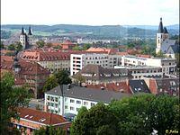 Distrikto Nordhausen: urbocentro