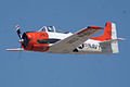 North American T-28B Trojan Navy N63NA Enemy Forces Suppression 2nd Pass 03 TICO 13March2010 (14596215151).jpg