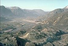 Hummocky terrain