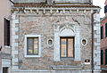North facade Chiesa di Santa Margherita Venice detail.JPG