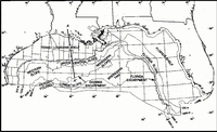 Gulf of mexico wikipedia map of northern part of gulf of mexico sciox Gallery