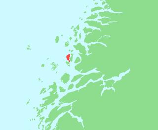Lurøya, Nordland island in Lurøy, Norway