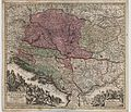 Nova Et Accurata Hungariae Cum Adiacentib. Regn. Et Principatibus Tabula aeri incisa et venum exposita a Matth. Seuttero 1730.jpg