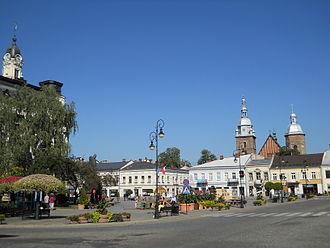 Nowy Sącz - Nowy Sącz Market Square