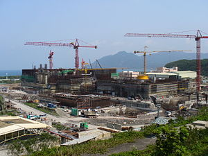 Lungmen Nuclear Power Plant - Construction of Lungmen Nuclear Power Plant