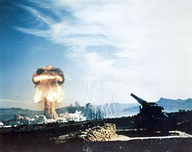 Nuclear artillery test Grable Event - Part of Operation Upshot-Knothole.jpg