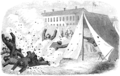 Nurse and spy in the Union Army - EXPLOSION OF A SHELL.png